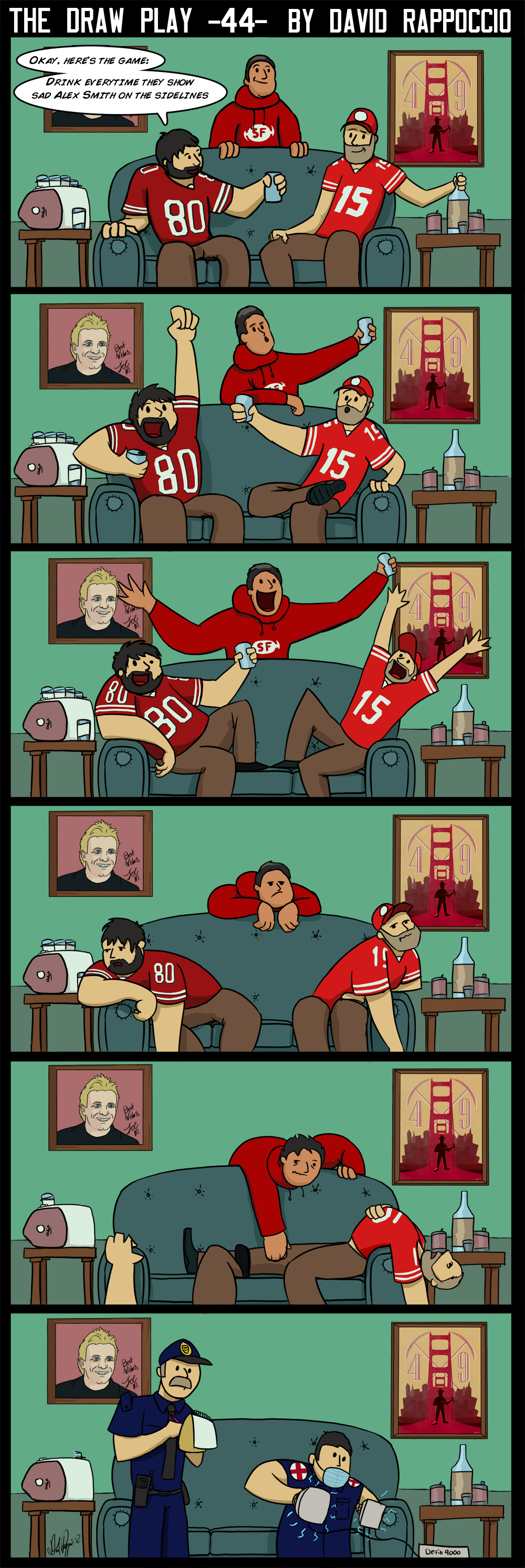 This comic takes place in the 1st quarter