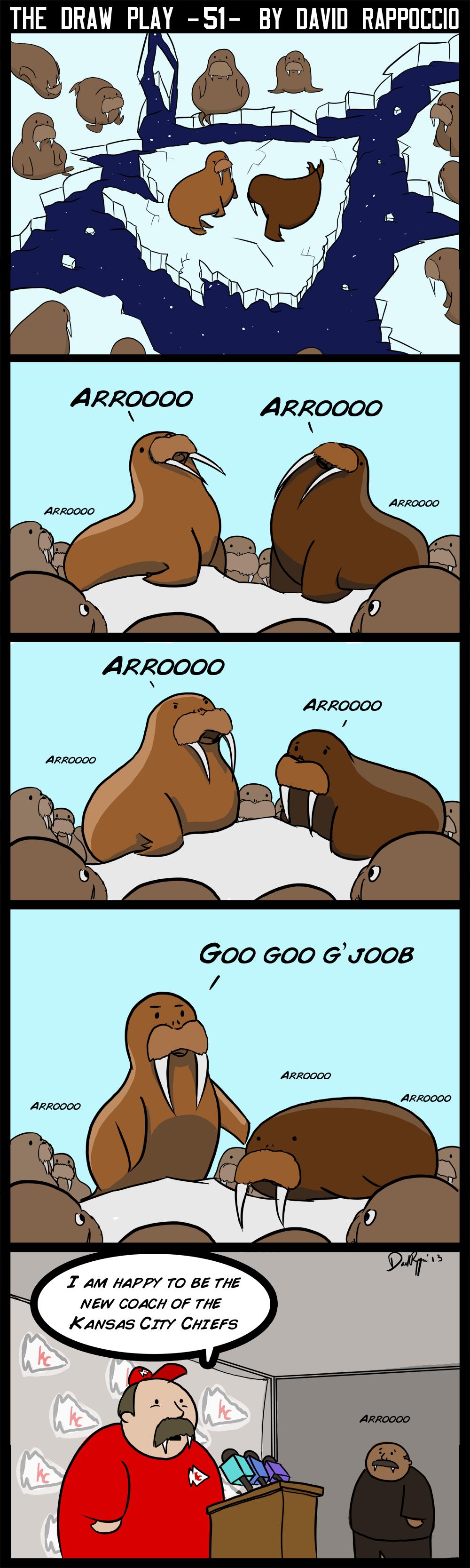 I am the Andy, I am the Andy, I am The Walrus! Pass pass the ball