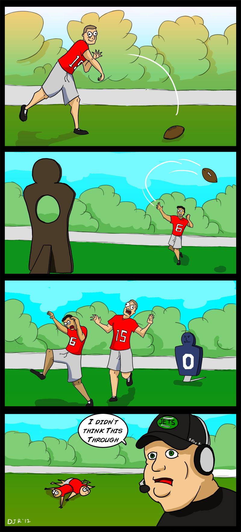 Tim Tebow is a bad quarterback.