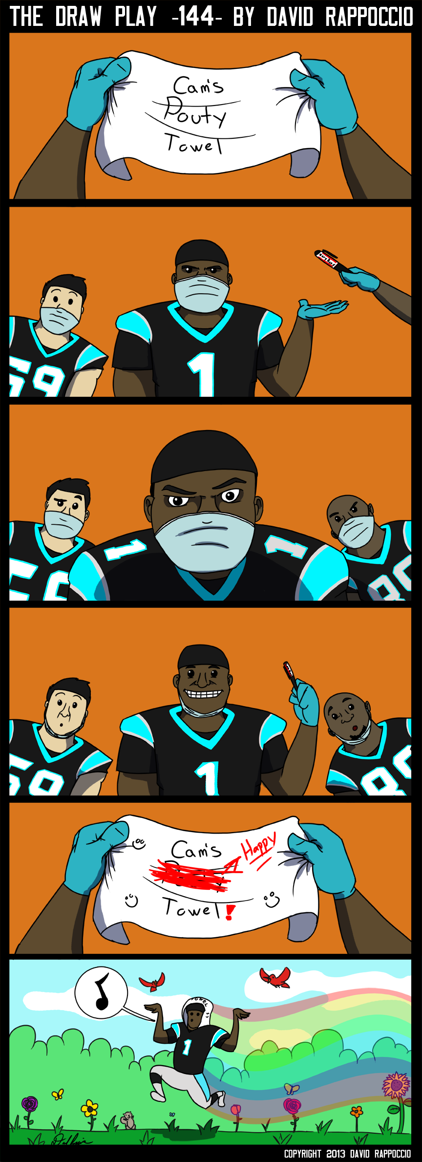 Steve Smith doesn't have a happy towel, he just has a happy fist