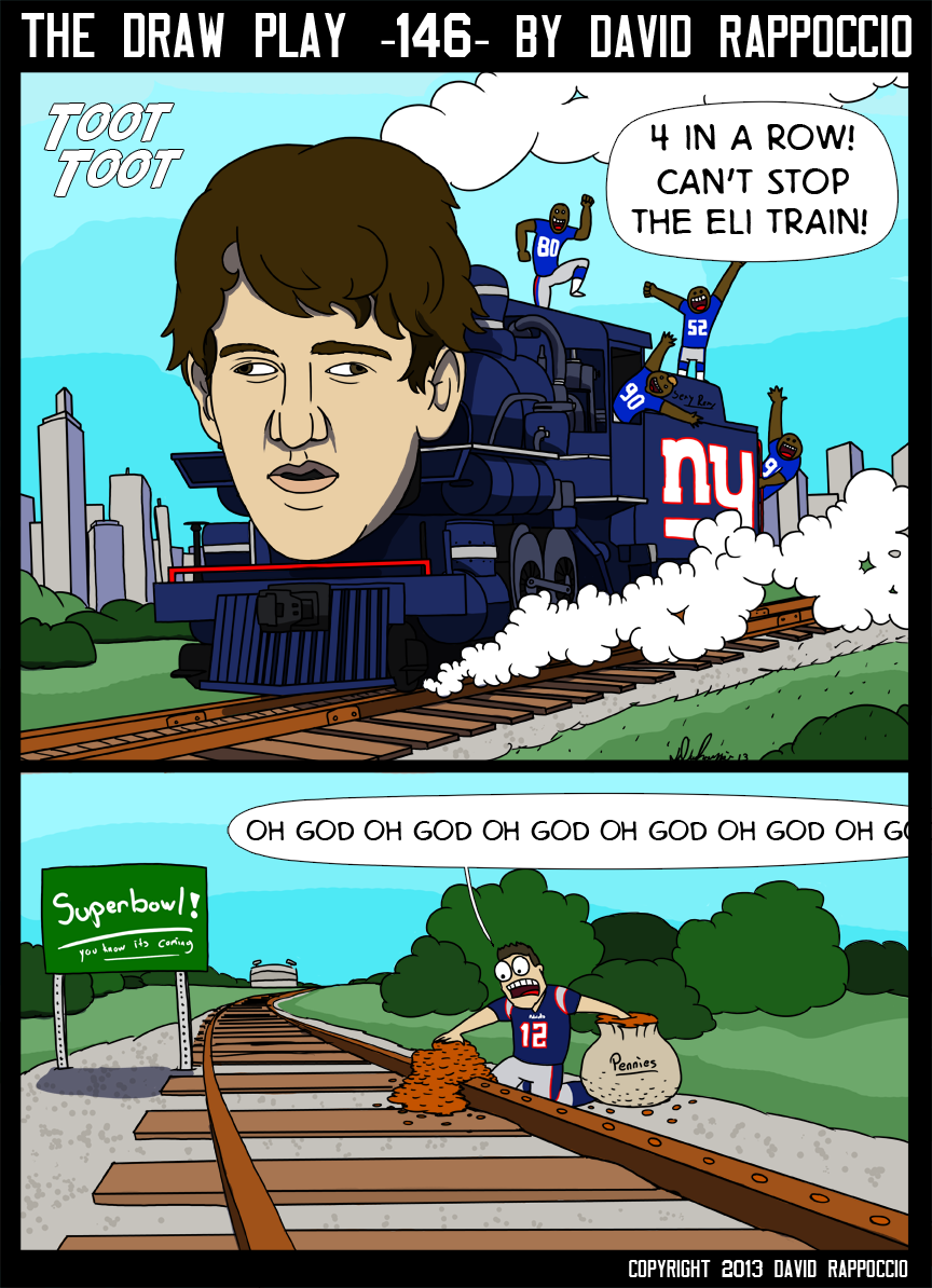 Man I don't know how that Superbowl sign hasn't been hit by a train yet