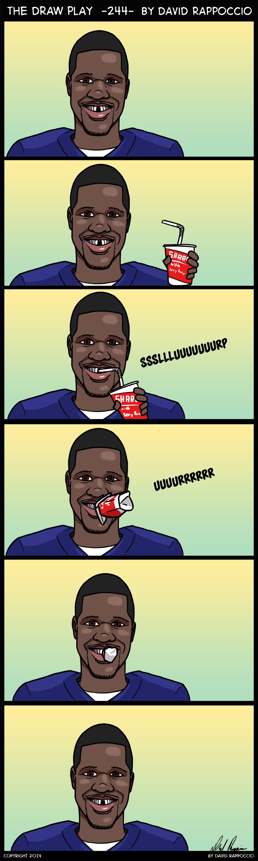 Final phoned in comic of the offseason!