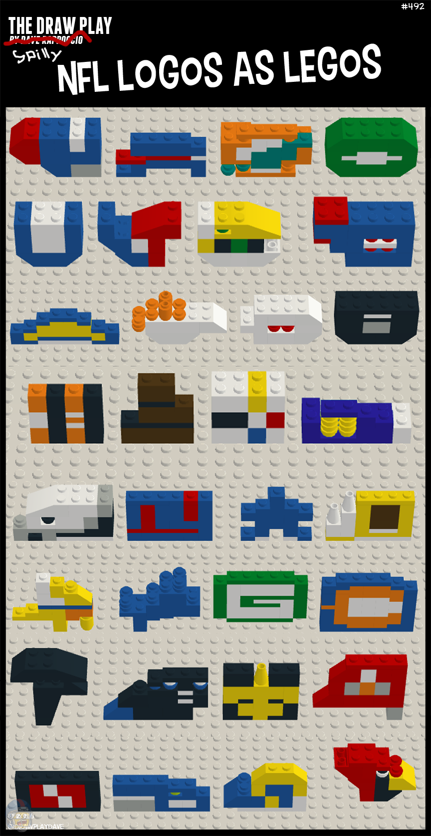 "It never said NFL logos as ""good"" legos"