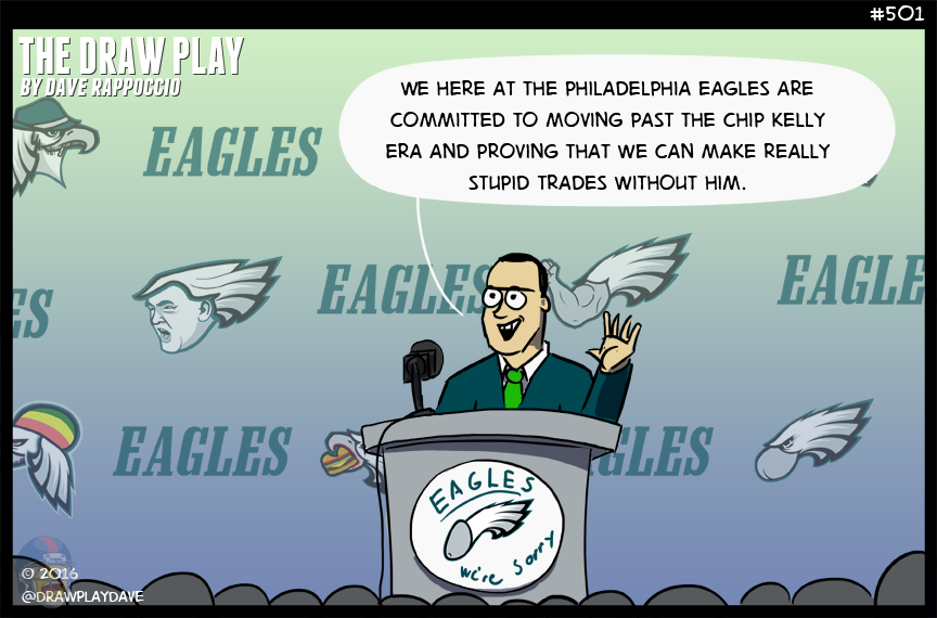 I wonder how mad Chip Kelly is right now