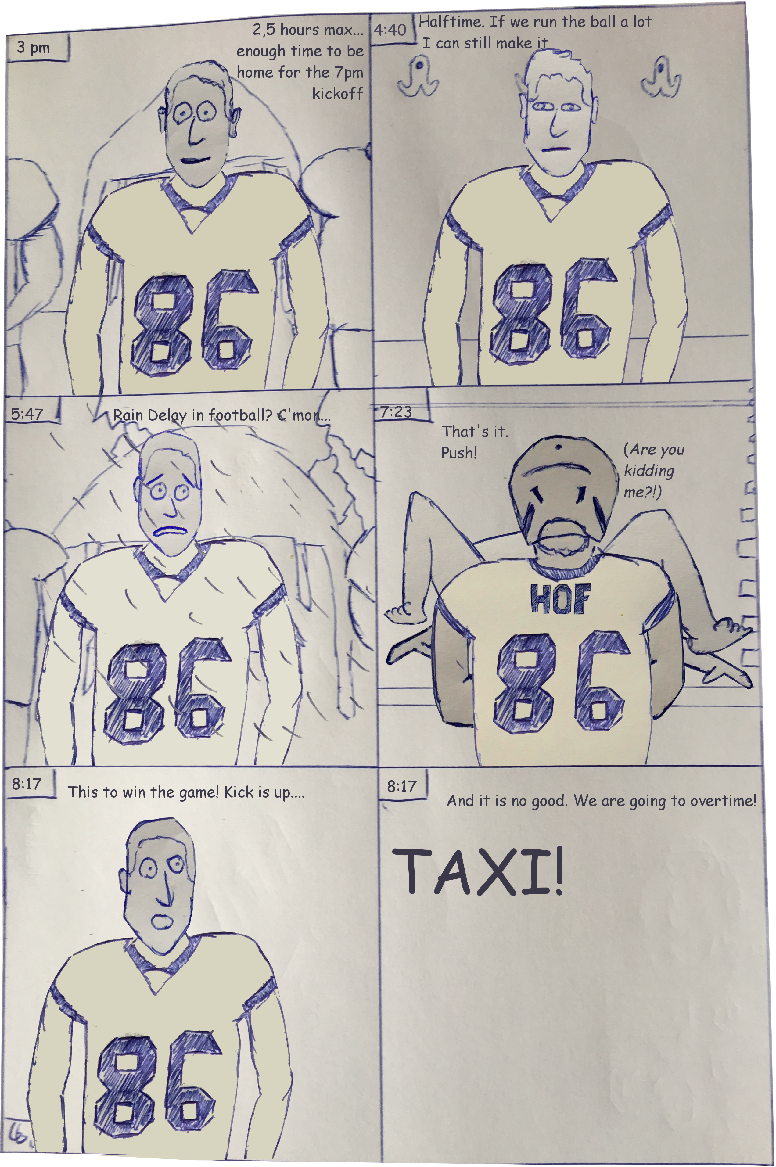 Missing the Steelers – Guest Comic by Leon Häfner