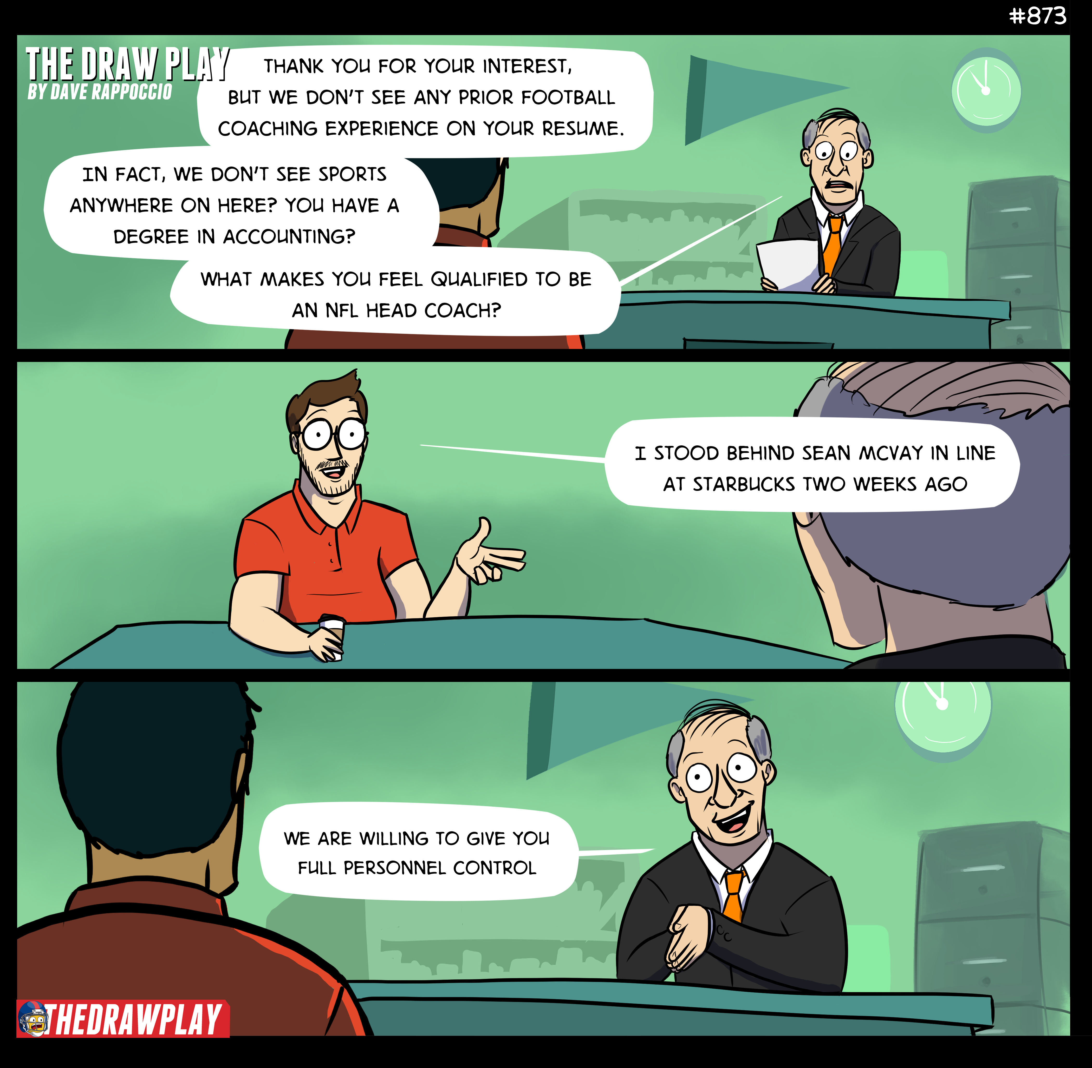 How To Get An NFL Coaching Job Interview