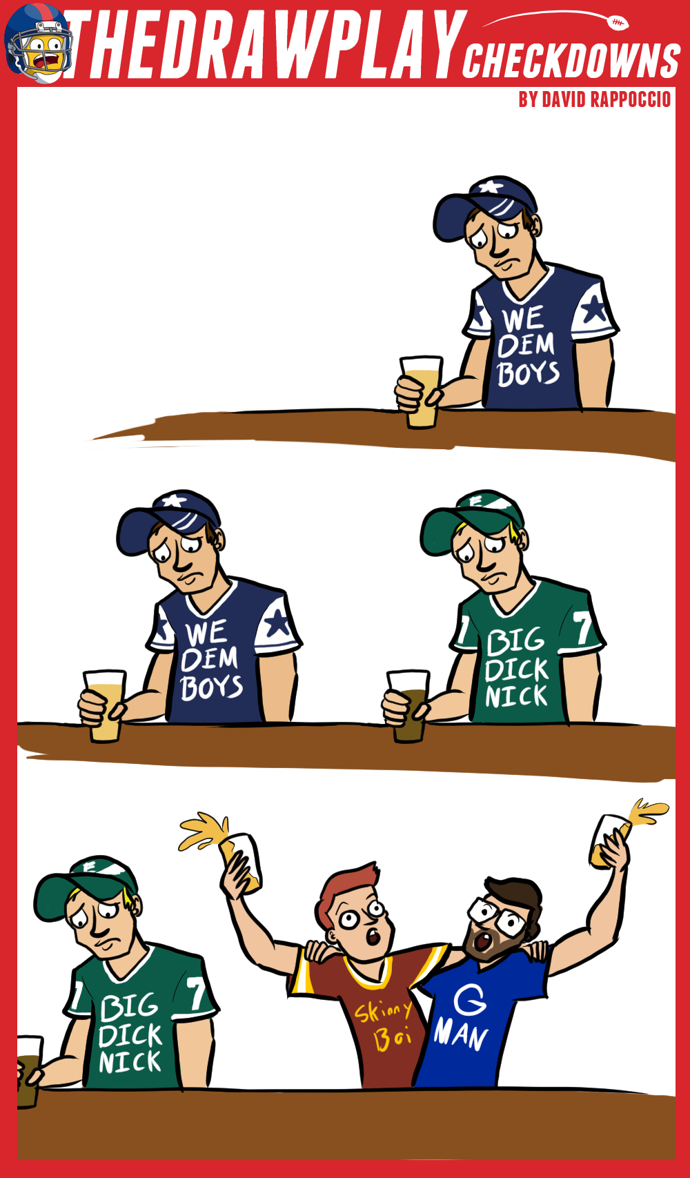 The NFC East Has Quite A Weekend