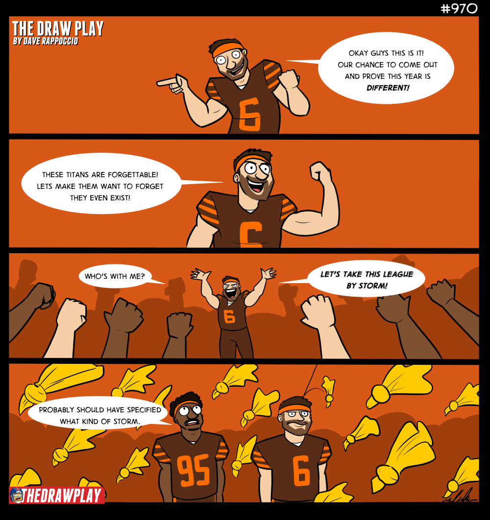 The Browns Unleash The Storm