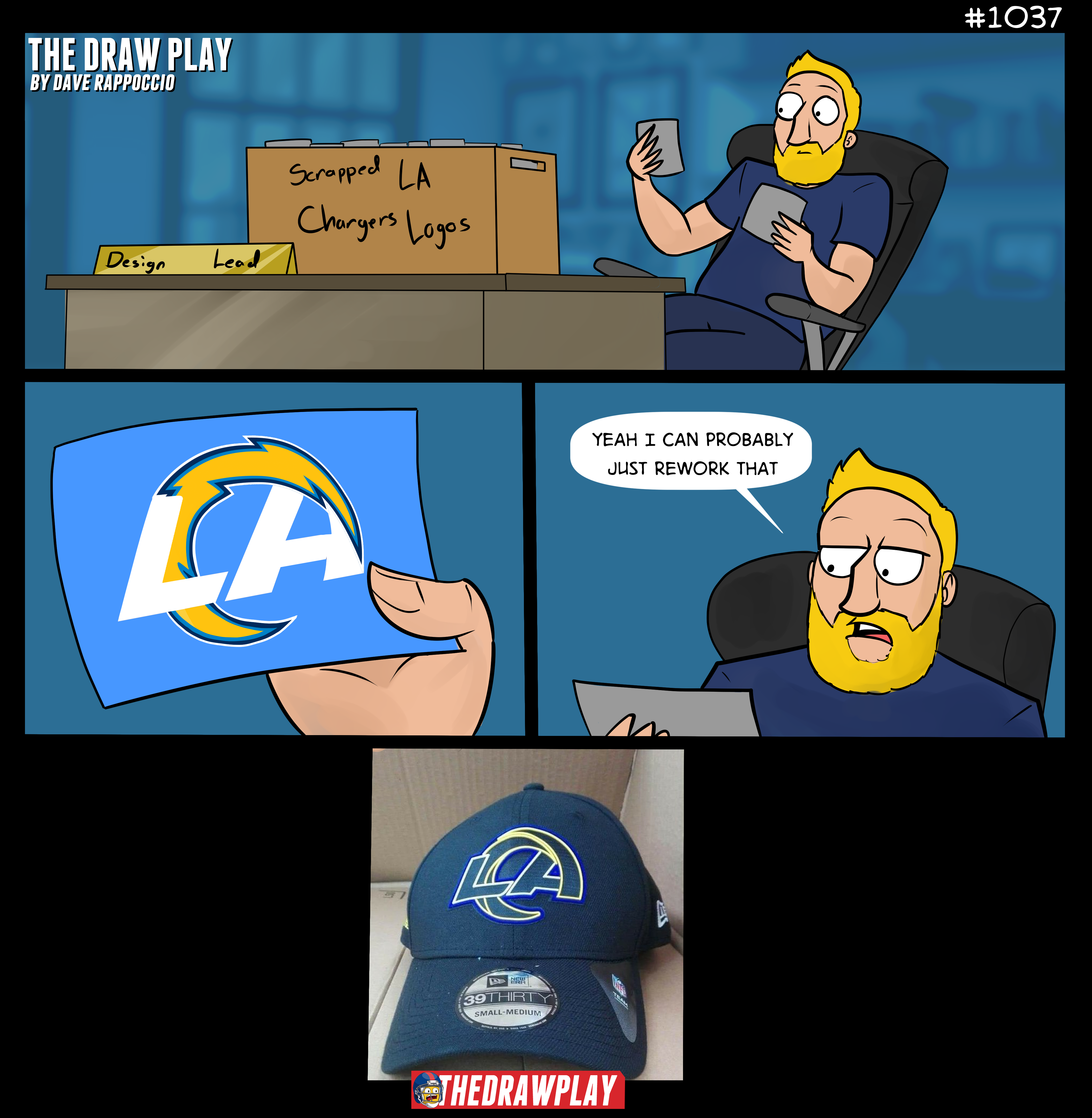 How We Got The Rams New Logo