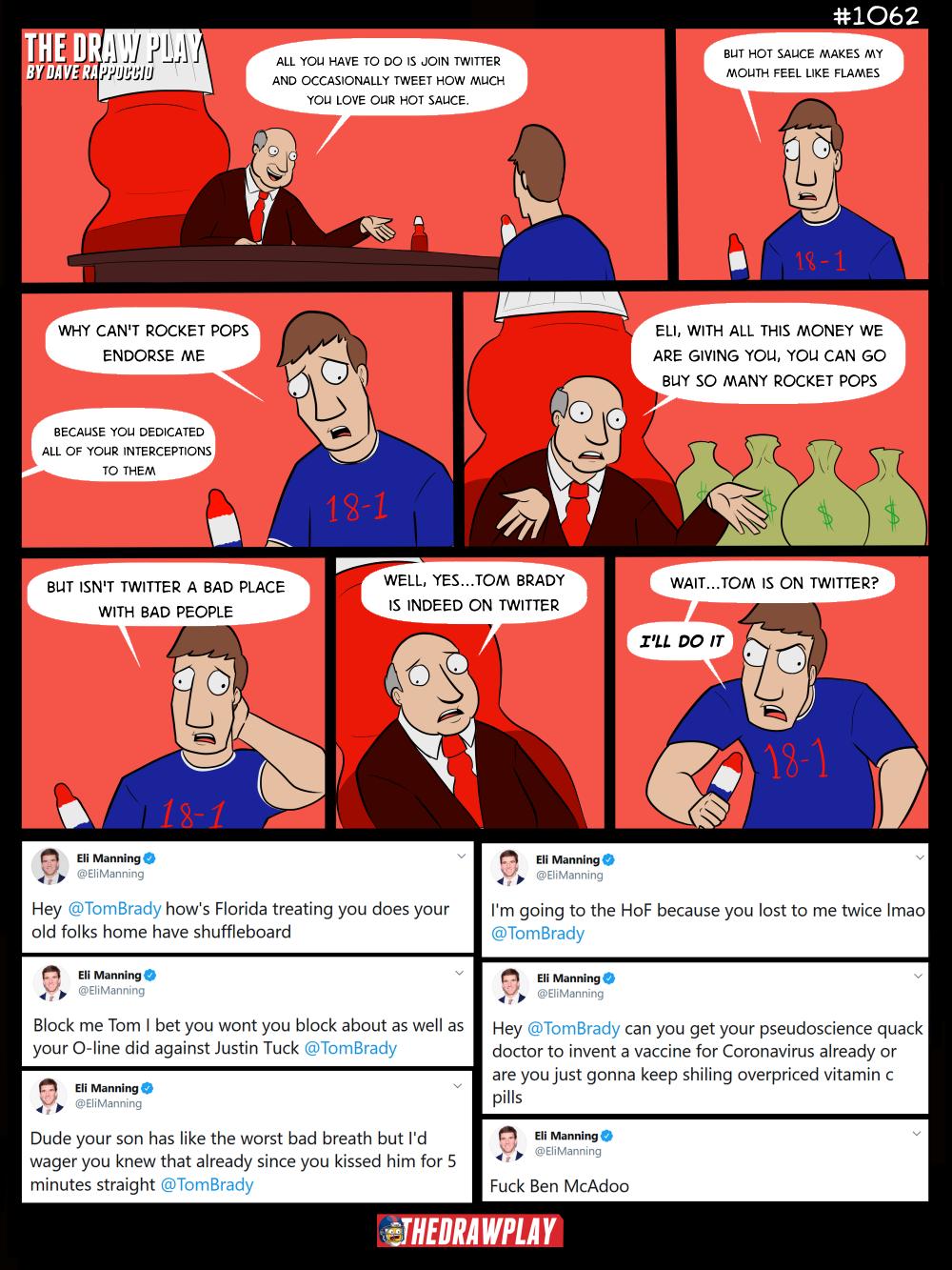 Eli Manning Joins Twitter