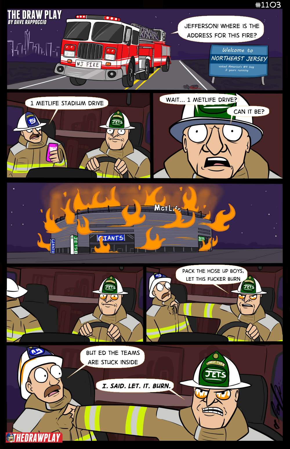 Fireman Ed's been burned there too many times