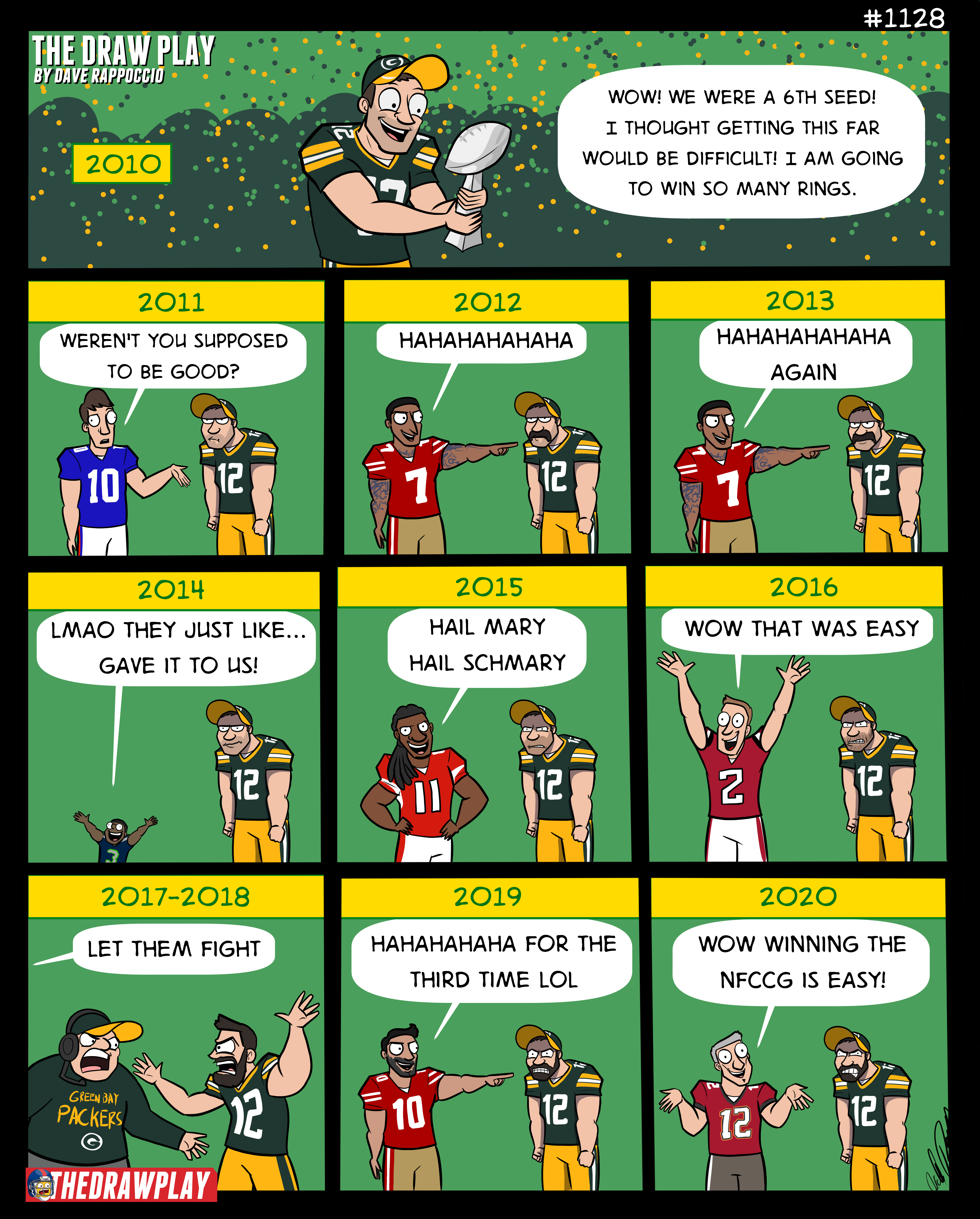 The Packers Decade of Failure