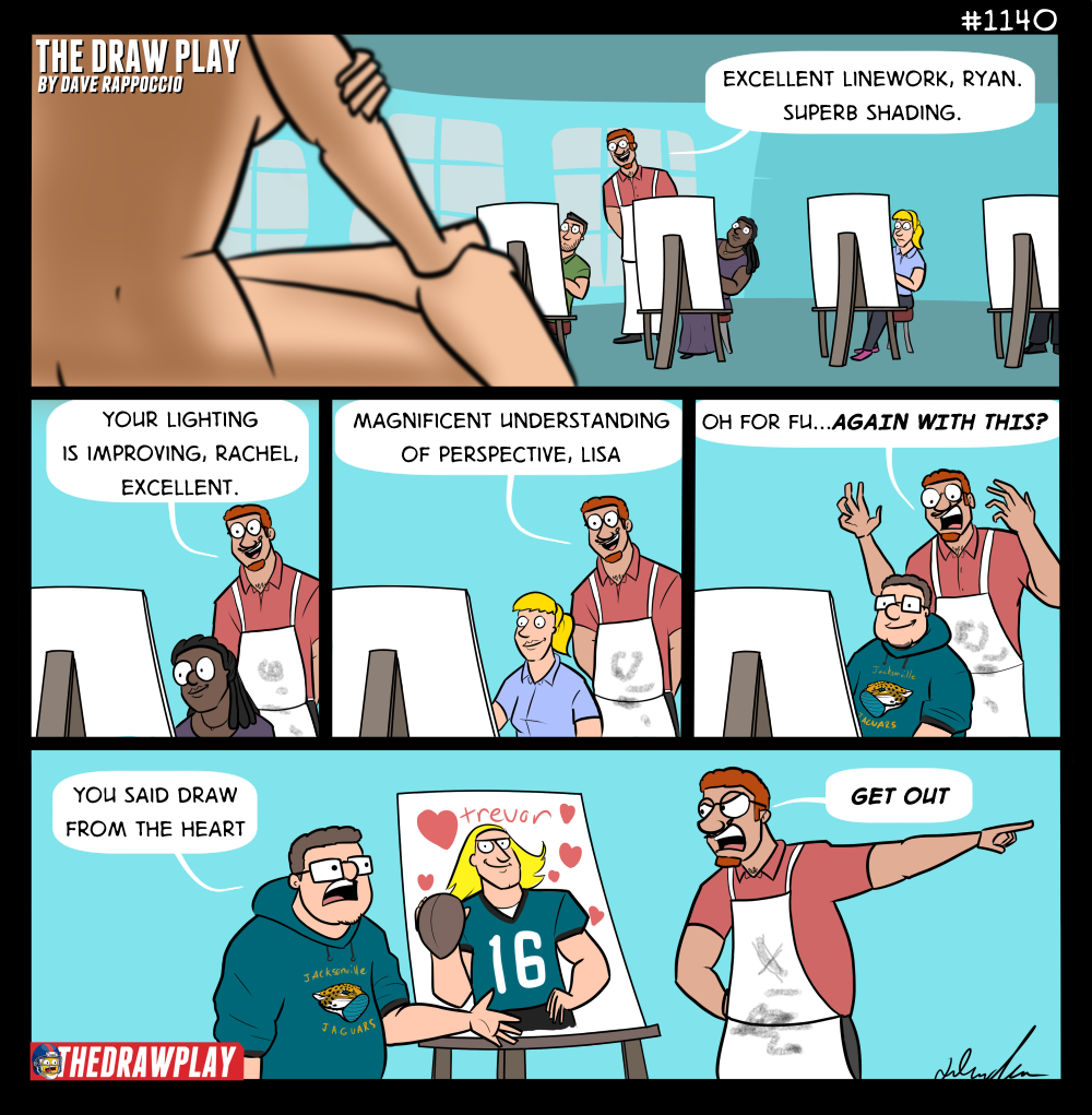 If the Jags pick someone else, consider it my fault